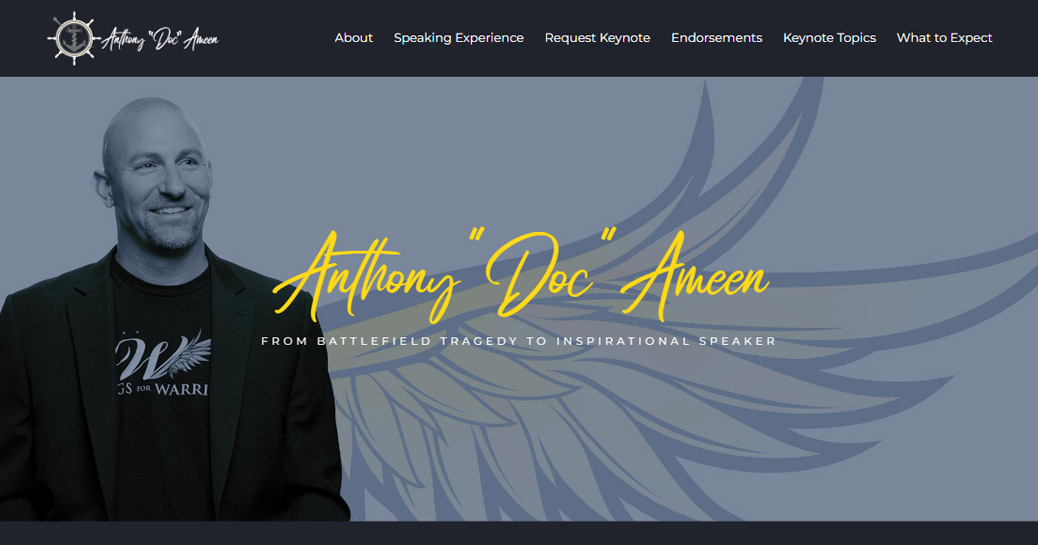 Anthony Doc Ameen - Biography Page